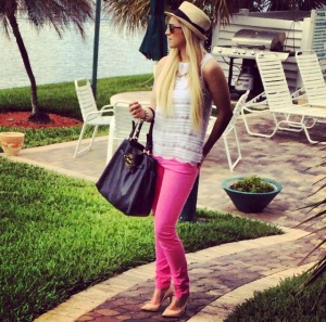 Tory Burch Handbag, Mexx Pants, Ted Baker Shoes